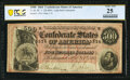 Confederate Notes:1864 Issues, T64 $500 1864 PF-1 Cr. 489A PCGS Banknote Very Fine 25.. ...