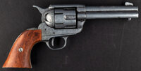 """Three Amigos (Orion, 1986). Near Mint. Screen Used Non-Firing Colt Prop Pistol (Approximately 10"""" X 5""""). Comed..."""