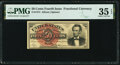 Fractional Currency:Fourth Issue, Fr. 1374 50¢ Fourth Issue Lincoln PMG Choice Very Fine 35 EPQ.. ...