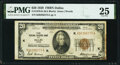 Fr. 1870-K $20 1929 Federal Reserve Bank Note. PMG Very Fine 25