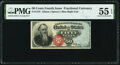 Fractional Currency:Fourth Issue, Fr. 1376 50¢ Fourth Issue Stanton PMG About Uncirculated 55 EPQ.. ...
