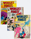 Silver Age (1956-1969):Superhero, World's Finest Comics Group of 24 (DC, 1961-68) Condition: Average GD/VG.... (Total: 22 Comic Books)