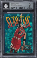 Basketball Cards:Singles (1980-Now), 1996 Skybox Z-Force Michael Jordan (Slam Cam) #SC5 BGS Mint 9....
