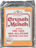 Basketball Cards:Sets, 1985 Star Co. Crunch & Munch Basketball Complete Sealed Set (11)....
