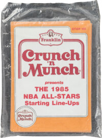 1985 Star Co. Crunch & Munch Basketball Complete Sealed Set (11)