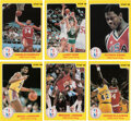 Basketball Cards:Sets, 1986 Star Co. Court Kings Complete Set (33) With Michael Jordan! ...