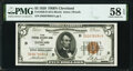 Fr. 1850-D $5 1929 Federal Reserve Bank Note. PMG Choice About Unc 58 EPQ