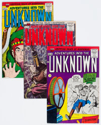 Adventures Into The Unknown Group of 25 (ACG, 1960-67).... (Total: 25 Comic Books)