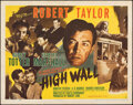 """Movie Posters:Film Noir, High Wall (MGM, 1947). Folded, Very Fine. Half Sheets (2) (22"""" X 28"""") Style A & B. Film Noir.. ... (Total: 2 Items)"""