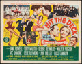"""Movie Posters:Musical, Hit the Deck (MGM, 1955). Folded, Very Fine-. Half Sheets (2) (22"""" X 28"""") Style A & B. Musical.. ... (Total: 2 Items)"""