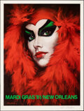 """Movie Posters:Advertising, Mardi Gras New Orleans (1981). Rolled, Very Fine+. Signed and Numbered Limited Edition Poster (25"""" X 33"""") Larry Harris Artwo..."""