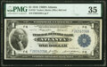 Large Size:Federal Reserve Bank Notes, Fr. 723 $1 1918 Federal Reserve Bank Note PMG Choice Very Fine 35.. ...