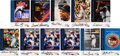 "Baseball Cards:Sets, 1999 Fleer ""Sports Illustrated"" Autograph Master Set (82) With Both Reggie Jackson Inscription Variatons. ..."