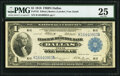 Large Size:Federal Reserve Bank Notes, Fr. 742 $1 1918 Federal Reserve Bank Note PMG Very Fine 25.. ...