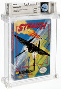 Video Games:Nintendo, Stealth ATF - Wata 9.2 B+ Sealed [Oval SOQ TM], NES Activision 1989 USA. ...