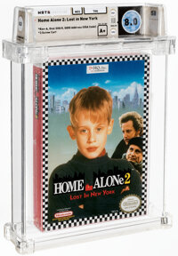 Home Alone 2: Lost in New York - Wata 8.0 A+ Sealed [Oval SOQ R], NES THQ 1992 USA