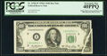 Error Notes:Gutter Folds, Gutter Fold Error Fr. 2158-I* $100 1950A Federal Reserve Note. PCGS Extremely Fine 40PPQ.. ...