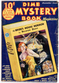 Pulps:Horror, Dime Mystery Magazine - December 1932 (Popular) Condition: VG....
