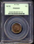 Proof Indian Cents: , 1879 1C PR65 Red PCGS. Bright gold color illuminates the ...