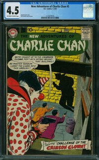 The New Adventures of Charlie Chan #5 (DC, 1959) CGC VG+ 4.5 Off-white to white pages