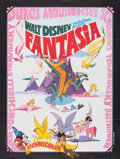 "Movie Posters:Animation, Fantasia (Walt Disney, R-1970s). Folded, Very Fine. French Grande (46"" X 61""). Animation.. ..."