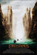 "Movie Posters:Fantasy, The Lord of the Rings: The Fellowship of the Ring (New Line, 2001). Rolled, Very Fine+. One Sheet (27"" X 40"") SS Advance. Fa..."