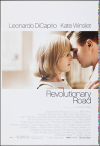 """Revolutionary Road (Paramount, 2008). Rolled, Very Fine/Near Mint. Printer's Proof One Sheet (28"""" X 41"""") SS. D..."""