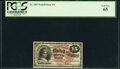 Fractional Currency:Fourth Issue, Fr. 1267 15¢ Fourth Issue PCGS Gem New 65.. ...