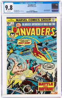 The Invaders #1 (Marvel, 1975) CGC NM/MT 9.8 White pages