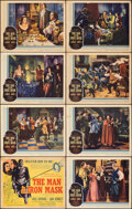 """Movie Posters:Adventure, The Man in the Iron Mask (United Artists, 1939). Overall: Fine. Lobby Card Set of 8 (11"""" X 14""""). Adventure.. ... (Total: 8 Items)"""