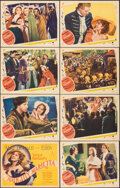 """Movie Posters:Musical, Naughty Marietta (MGM, 1935). Very Fine+. Lobby Card Set of 8 (11"""" X 14""""). Musical.. ... (Total: 8 Items)"""