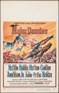 """Movie Posters:Western, Major Dundee & Other Lot (Columbia, 1965). Overall: Very Fine-. Window Card & Cinerama Window Card (14"""" X 22""""). Western.. ... (Total: 2 Items)"""