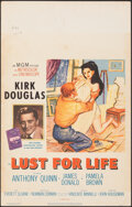 """Movie Posters:Drama, Lust for Life & Other Lot (MGM, 1956). Overall: Fine+. Window Cards (2) (14"""" X 22""""). Drama.. ... (Total: 2 Items)"""