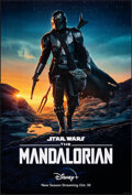 """Movie Posters:Science Fiction, The Mandalorian: Season 2 (Disney+, 2020). Rolled, Very Fine+. One Sheet (27"""" X 40"""") DS Advance. Science Fiction.. ..."""