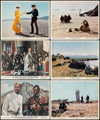 """Lawrence of Arabia & Other Lot (Columbia, R-1971). Overall: Fine/Very Fine. Mini Lobby Cards (13) (8"""" X 10""""..."""