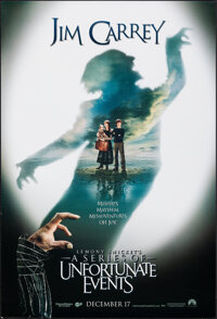"Lemony Snicket's A Series of Unfortunate Events (Paramount, 2004). Rolled, Very Fine+. One Sheets (2) (27"" X 40&quo..."