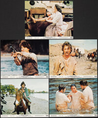"Little Big Man & Other Lot (National General, 1971). Overall: Very Fine-. Mini Lobby Cards (15) (8"" X 10"")..."