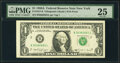 Small Size:Federal Reserve Notes, Fr. 1917-B $1 1988A Web Federal Reserve Note. PMG Very Fine 25.. ...