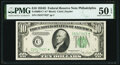 Fr. 2009-C* $10 1934D Federal Reserve Note. PMG About Uncirculated 50 EPQ