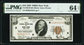 Fr. 1860-B $10 1929 Federal Reserve Bank Note. PMG Choice Uncirculated 64 EPQ