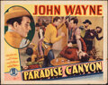 """Movie Posters:Western, Paradise Canyon (Monogram, 1935). Rolled, Fine. Half Sheet (22"""" X 28""""). Western.. ..."""