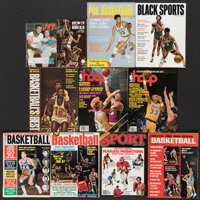 1966-89 Lew Alcindor/Kareem Abdul-Jabbar Publications Lot of 10