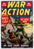 Golden Age (1938-1955):War, War Action #1 (Atlas, 1952) Condition: FN+....