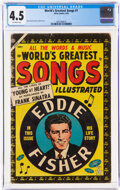 Golden Age (1938-1955):Miscellaneous, World's Greatest Songs #1 (Atlas, 1954) CGC VG+ 4.5 Off-white pages....