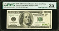 Error Notes:Gutter Folds, Gutter Fold Error Fr. 2175-B $100 1996 Federal Reserve Note. PMG Choice Very Fine 35.. ...