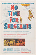 """Movie Posters:Comedy, No Time for Sergeants (Warner Bros., 1958). Folded, Very Fine-. One Sheet (27"""" X 41""""). Comedy.. ..."""