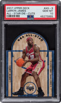 Basketball Cards:Singles (1980-Now), 2007 Upper Deck All-Star Die-Cuts LeBron James #AS-9 PSA Gem Mint 10....
