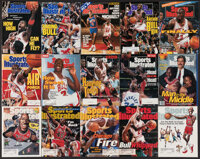 1989-2000 Michael Jordan Sports Illustrated lot of 41