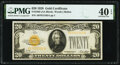 Fr. 2402 $20 1928 Gold Certificate. PMG Extremely Fine 40 EPQ