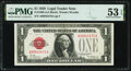 Fr. 1500 $1 1928 Legal Tender Note. PMG About Uncirculated 53 EPQ